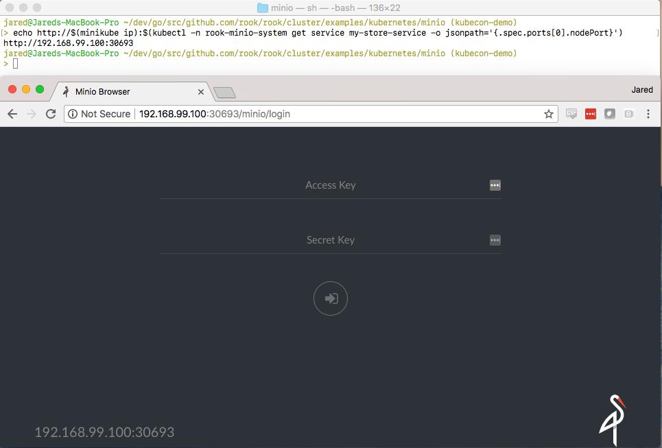Minio Web Demo